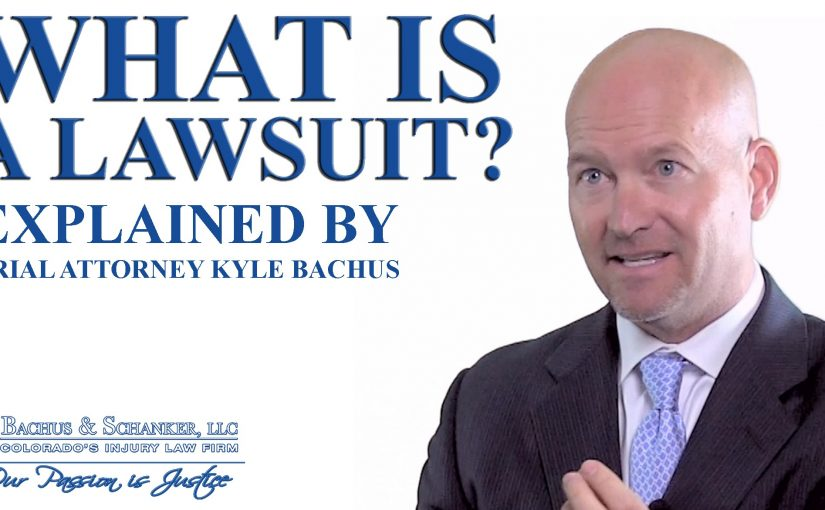 What is a lawsuit? How does personal injury law work in Colorado?