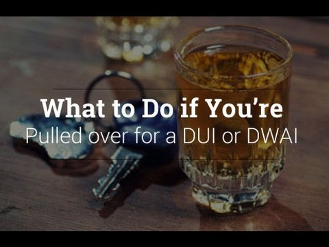 DUI and DWI Voluntary Roadside Tests and Maneuvers